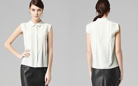 White Silk Blouse For Every Size